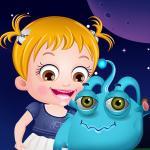 Baby Hazel Alien Friend
