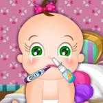 Baby Rosy Flu Problems