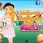 Makeup Challenge With Barbie