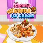 Yummy Waffle Ice Cream